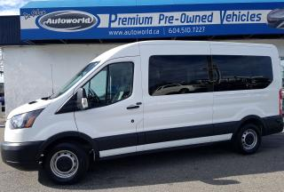 Used 2017 Ford Transit *12 Passenger, Rear View Camera* for sale in Langley, BC