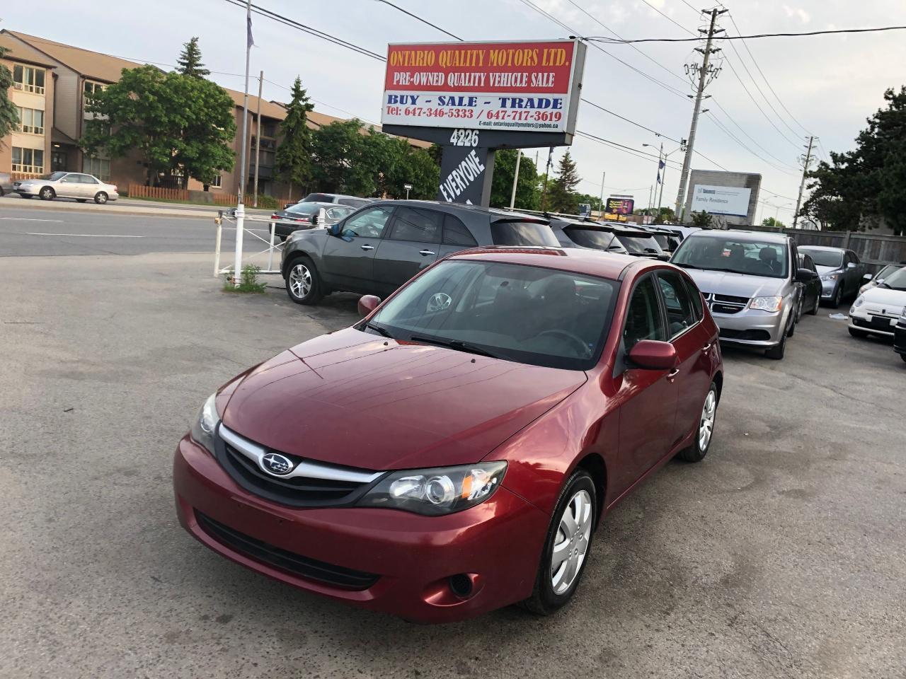 Ontario Quality Motors >> Used 2011 Subaru Impreza 2 5i For Sale In Toronto Ontario