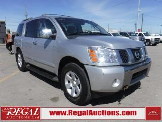 Used 2004 Nissan Pathfinder Armada 4D Utility 4WD for sale in Calgary, AB