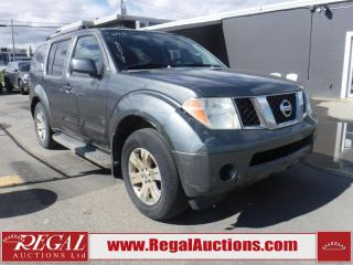 Used 2006 Nissan Pathfinder LE 4D Utility 4WD for sale in Calgary, AB