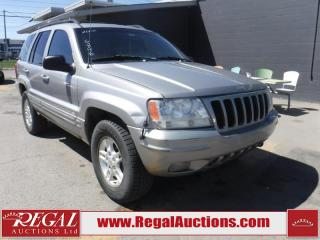 Used 2000 Jeep Grand Cherokee 4D Utility 4WD for sale in Calgary, AB