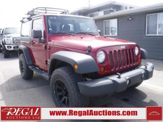 Used 2012 Jeep Wrangler Sport 2D Utility 4WD for sale in Calgary, AB