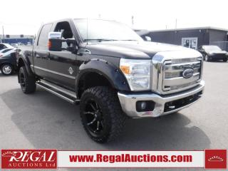 Used 2015 Ford F-350 S/D LARIAT CREW CAB SWB SRW 4WD for sale in Calgary, AB