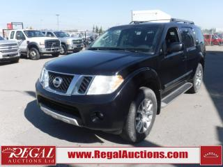 Used 2012 Nissan Pathfinder LE 4D Utility AT 4WD 7PASS 4.0L for sale in Calgary, AB