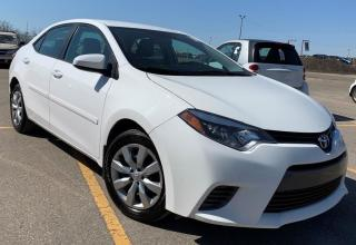 Used 2016 Toyota Corolla LE.Automatic.Back Up Camera.Bluetooth.Heated Seats for sale in Kitchener, ON