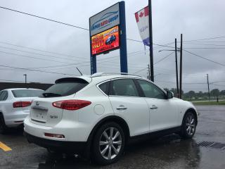 Used 2015 Infiniti QX50 BACK-UP CAMERA*BLUETOOTH*HEATED Seats - Driver AND PASSENGER*LEATHER*POWER Moonroof for sale in London, ON