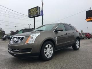 Used 2015 Cadillac SRX 4 * Luxury * Leather * Moonroof * Onstar Navi * Backup Camera * Bose Audio * for sale in London, ON