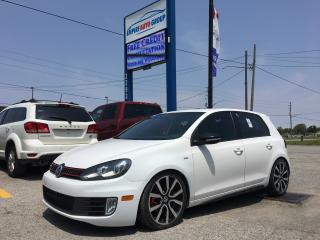 Used 2013 Volkswagen Golf GTI*HEATED Seats - Driver AND PASSENGER*NAVI*POWER MOONROOF* for sale in London, ON