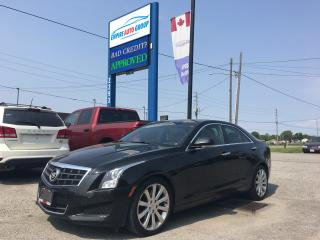 Used 2013 Cadillac ATS *LUXURY*LEATHER ROOF*NAVI*REAR CAMERA*BLACK for sale in London, ON