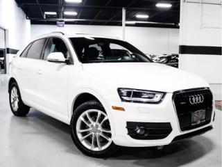 Used 2015 Audi Q3 TECHNIK   NAVIGATION   BOSE AUDIO   PUSH START for sale in Vaughan, ON