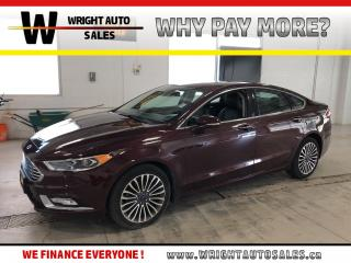 Used 2017 Ford Fusion Titanium|NAVIGATION|SUNROOF|LEATHER|55,113 KMS for sale in Cambridge, ON
