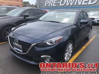Used 2015 Mazda MAZDA3 GT|Navigation|Leather|Sunroof|Heads Up Display for sale in Toronto, ON