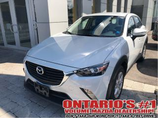 Used 2017 Mazda CX-3 GS-AWD/SUNROOF/1.90%, C.P.O!!! for sale in Toronto, ON