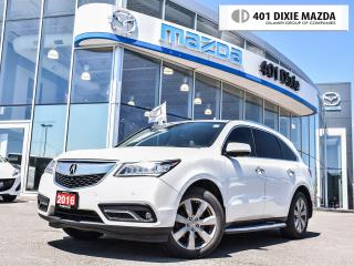 Used 2016 Acura MDX Elite Package|ONE OWNER|NO ACCIDENTS| for sale in Mississauga, ON