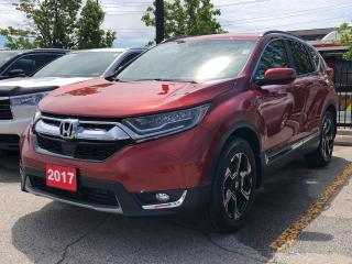 Used 2017 Honda CR-V Touring, original Roadsport Honda vehicle for sale in Toronto, ON