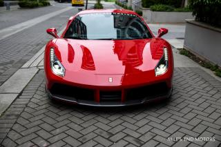 Used 2016 Ferrari 488 GTB 2016 Ferrari 488 GTB with NOVITEC - 2dr Cpe for sale in Vancouver, BC