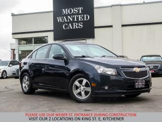Used 2014 Chevrolet Cruze 2LT | CAMERA | LEATHER | SUNROOF for sale in Kitchener, ON