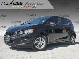 Used 2015 Chevrolet Sonic LT TURBO, HEATED SEATS, BACKUP CAM for sale in Woodbridge, ON