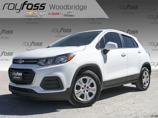 Used 2017 Chevrolet Trax LS BACKUP CAM, BLUETOOTH for sale in Woodbridge, ON