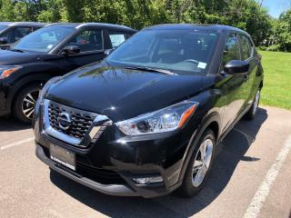 New 2019 Nissan Kicks S CVT for sale in St. Catharines, ON