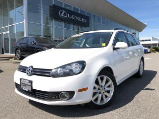 Used 2013 Volkswagen Golf Wagon 2.0 TDI Highline DSG at w/ Tip LOW KMS, NO Acciden for sale in North Vancouver, BC