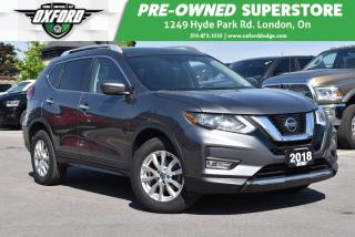 Used 2019 Nissan Rogue SV - Low Kms, Well Equipped, AWD, Roof Rack for sale in London, ON