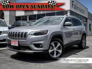 Used 2019 Jeep Cherokee Limited 4x4 l SOLD BY MIKE THANK YOU!!! for sale in Burlington, ON