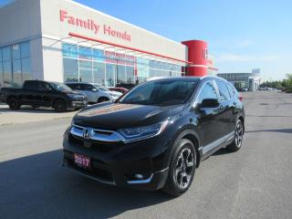 Used 2017 Honda CR-V Touring, NAVIGATION, SUNROOF, HEATED SEATS for sale in Brampton, ON