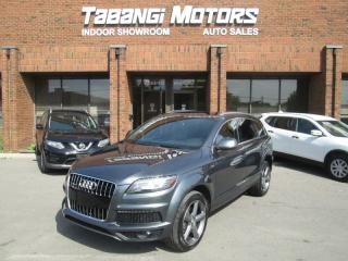 Used 2015 Audi Q7 TDI | VORSPRUNG | NO ACCIDENTS | S-LINE | BLIND SPOT | for sale in Mississauga, ON
