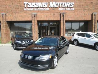 Used 2015 Volkswagen Passat COMFORTLINE | LEATHER | SUNROOF | BIG SCREEN | REARCAM | B\T for sale in Mississauga, ON
