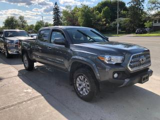 Used 2017 Toyota Tacoma 4WD Double Cab V6 for sale in Toronto, ON