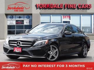 Used 2015 Mercedes-Benz C-Class C400 AMG PKG NAVI BACK UP CAM PAN ROOF PARKTRONIC KEYLESS GO for sale in Toronto, ON