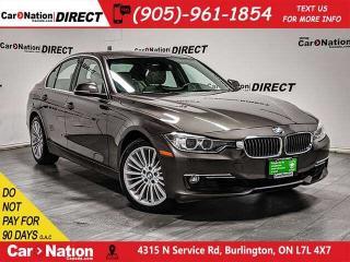Used 2015 BMW 328i xDrive| NAVI| SUNROOF| BACK UP CAM & SENSORS| for sale in Burlington, ON
