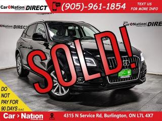 Used 2017 Audi Q5 2.0T Progressiv quattro| PANO ROOF| NAVI| for sale in Burlington, ON