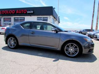 Used 2013 Scion tC Sports Coupe 6 Speed Sunroof Certified for sale in Milton, ON