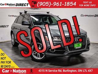 Used 2016 Audi Q5 2.0T Progressiv quattro| S-LINE| PANO ROOF| NAVI| for sale in Burlington, ON