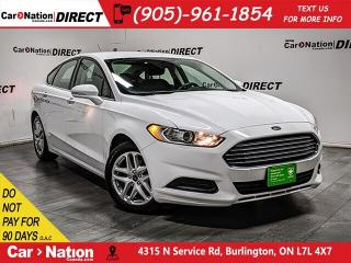 Used 2016 Ford Fusion SE| BACK UP CAM & SENSORS| POWER SEATS| for sale in Burlington, ON