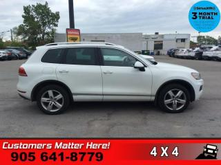 Used 2012 Volkswagen Touareg 3.0 TDI Highline  NAV LEATH 12W-SEATS for sale in St. Catharines, ON