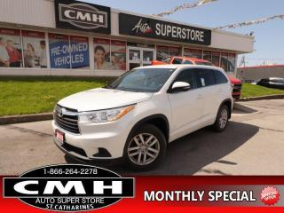 Used 2015 Toyota Highlander LE  AWD  B/U CAM BLUETOOTH 7-PASS for sale in St. Catharines, ON