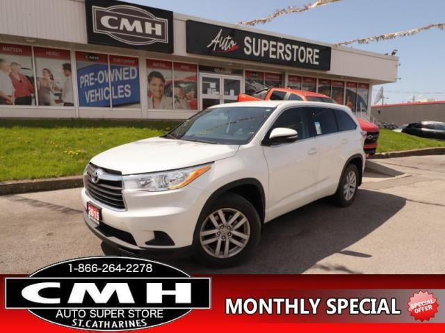 2015 Toyota Highlander LE  AWD  B/U CAM BLUETOOTH 7-PASS
