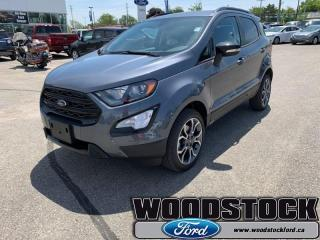 New 2019 Ford EcoSport SES 4WD  - Heated Seats for sale in Woodstock, ON