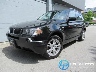 Used 2006 BMW X3 2.5i for sale in Richmond, BC