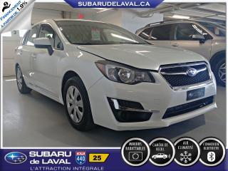 Used 2016 Subaru Impreza 2,0i Hatchback ** Caméra de recul ** for sale in Laval, QC