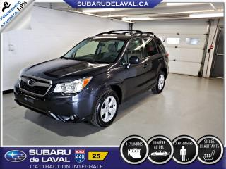 Used 2016 Subaru Forester 2.5i Commodité ** Caméra de recul ** for sale in Laval, QC