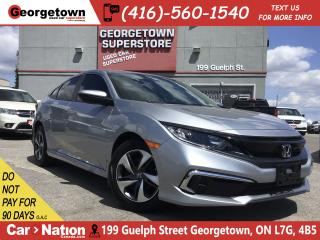 Used 2019 Honda Civic LX ONLY 1,003KS| B/U CAM| FACT WARRANTY| LIKE NEW for sale in Georgetown, ON