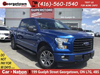 Used 2017 Ford F-150 SPORT |CREW 4X4 |35,674KM | NAVI | BU CAM| 1 OWNER for sale in Georgetown, ON