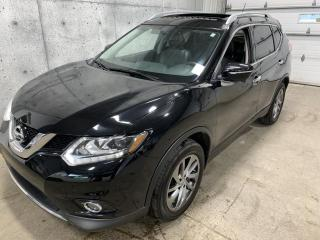 Used 2015 Nissan Rogue SL PREMIUM AWD CAMERA 360 GPSCUIR TOIT PANORAMIQUE for sale in Lévis, QC