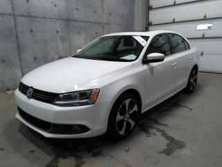 Used 2013 Volkswagen Jetta TDI DIESEL 2.0T Highline DSG AUTOMATIQUE CUIR TOIT SIEGES CHAUFFANTS for sale in St-Nicolas, QC