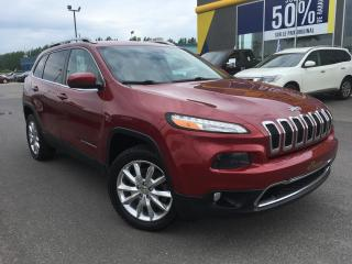 Used 2016 Jeep Cherokee LIMITED AWD CUIR for sale in Lévis, QC