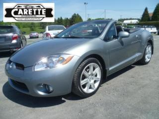 Used 2007 Mitsubishi Eclipse Gt-P Convertible for sale in East broughton, QC